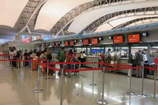 関西国際空港,混雑,ラッシュ,お盆