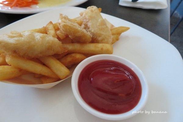 ケアンズ バーナクルズビルズシーフードイン barnacle Bill!s Seafood inn キッズメニュー kidsmenu フィッシュアンドチップス fish-and-chips