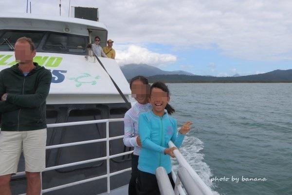 ケアンズ フランクランド諸島クルーズ 子供と一緒