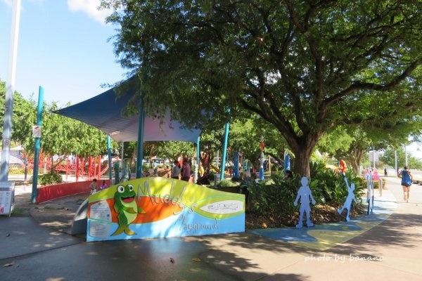 ケアンズ マディーズプレイグラウンド 子供用の公園