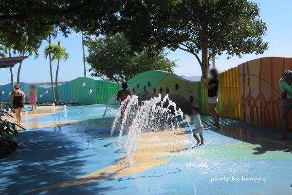 ケアンズ マディーズプレイグラウンド 子供用の公園 水遊び