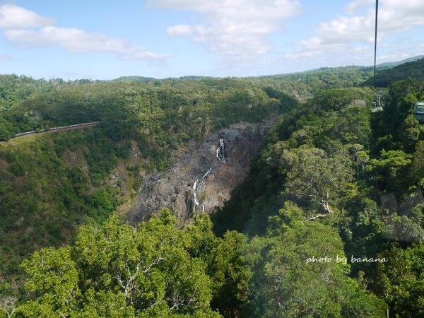 ケアンズ キュランダ観光 スカイレール バロンフォール滝