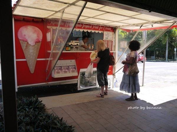 ケアンズ キュランダ観光 ホームメイド・トロピカル・アイス Homemade Tropical Icecream