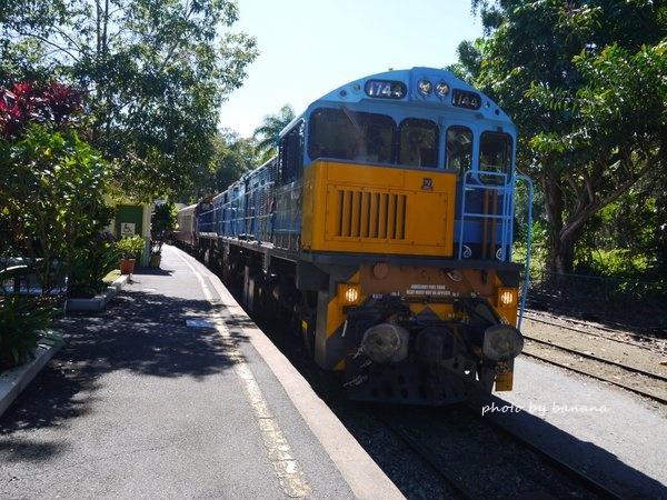 ケアンズ キュランダ鉄道 キュランダ駅 Kuranda Scenic Railway