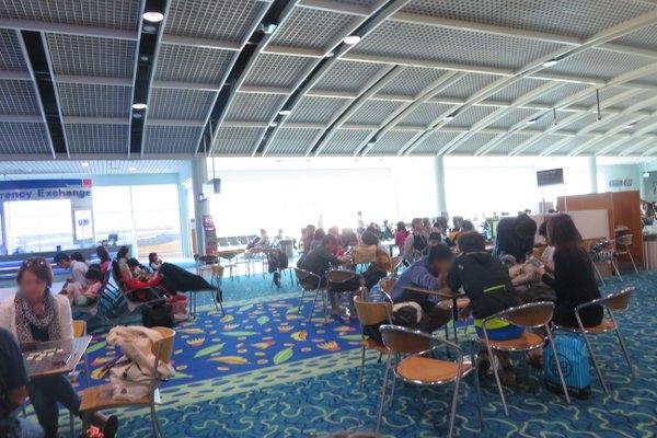 ケアンズ空港 国際線出発ターミナル
