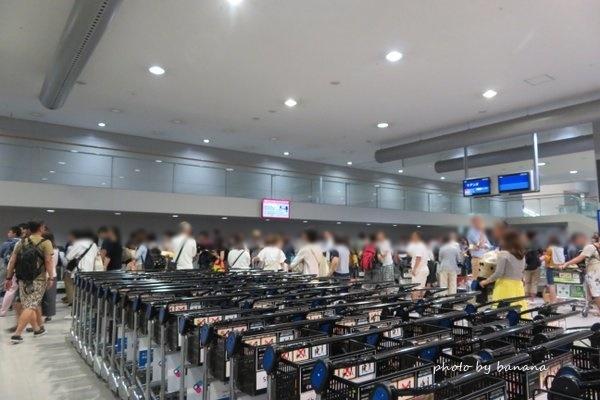関西国際空港 国際線到着 深夜