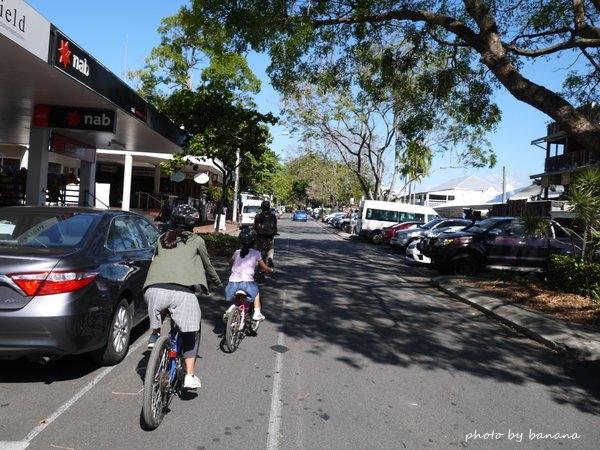 ポートダグラス 家族旅行 子供 Port Douglas bike